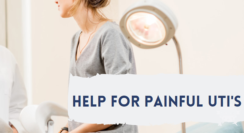 Help for Painful UTIs